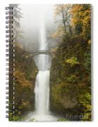 Multnomah Autumn Mist Spiral Notebook
