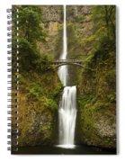 Multnomah Falls 2 A Spiral Notebook