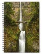 Multnomah Falls 2 B Spiral Notebook