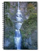 Multnomah Falls Columbia River Gorge Spiral Notebook