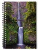 Multnomah Falls - Columbia River Gorge - Oregon Spiral Notebook