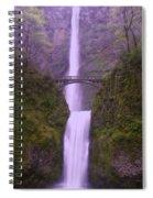Multnomah In The Drizzling Rain Spiral Notebook