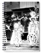 Mummers Circa 1909 Spiral Notebook