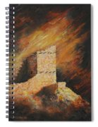 Mummy Cave Ruins 2 Spiral Notebook