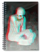 Mummy Dearest - Use Red-cyan Filtered 3d Glasses Spiral Notebook