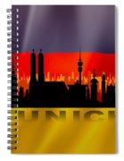 Munich City Spiral Notebook