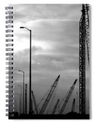Municipal Construction  Spiral Notebook