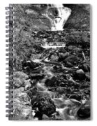 Munising Fall B And W Wash Spiral Notebook