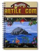 Mural Bandon Mercantile Company Spiral Notebook