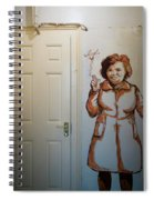 Mural Of Mccourts Mother Angela Spiral Notebook
