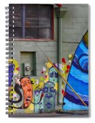 Mural - Wall Art Spiral Notebook