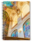 Murals Of Capitole De Toulouse Spiral Notebook