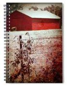 Murder In The Red Barn Spiral Notebook