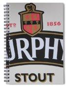 Murphy's Stout Spiral Notebook