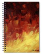 Muse In The Fire 3 Spiral Notebook
