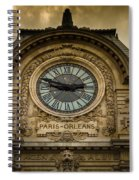 Musee Orsay Spiral Notebook