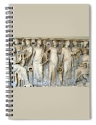Muses And Poets Spiral Notebook