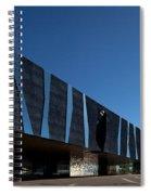 Museu Blau De Les Ciencies Naturals Spiral Notebook