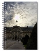 Museum Of The Army Spiral Notebook
