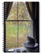 Museum Window Still Life Spiral Notebook