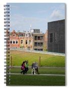 Museumplein Lawn In Amsterdam Spiral Notebook