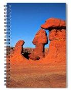 Mushroom Hoodoos  Spiral Notebook