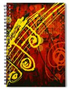 Music 2 Spiral Notebook