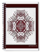 Music And Lace Spiral Notebook