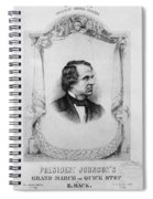 Music Andrew Johnson Spiral Notebook