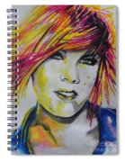 Music Artist..pink Spiral Notebook