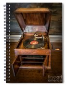 Music Box Spiral Notebook