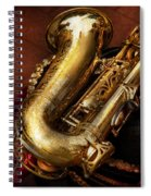 Music - Brass - Saxophone  Spiral Notebook