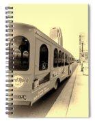 Music City Nashville Tour Spiral Notebook