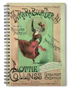 Music Cover For Ta-ra-ra-boom-der-ay Spiral Notebook