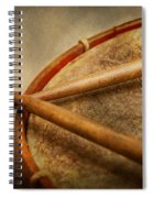 Music - Drum - Cadence  Spiral Notebook