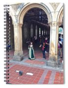 Music Echoes Under The Arches Spiral Notebook