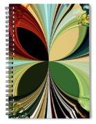 Music In Bird Of Tree Kaleidoscope Spiral Notebook