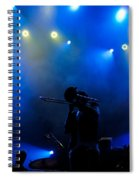 Music In Blue - Montreal Jazz Festival Spiral Notebook