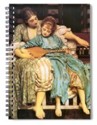 Music Lesson Spiral Notebook
