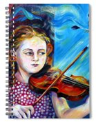 Music Lessons Spiral Notebook
