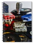 Music Memories Spiral Notebook
