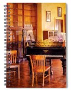 Music - Piano - Ready For Piano Lessons Spiral Notebook