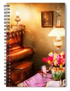 Music - Piano - The Music Room Spiral Notebook