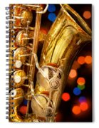 Music - Sax - Very Saxxy Spiral Notebook