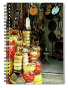 Music Shop Spiral Notebook