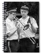 Music - Trombone - A Helping Hand  Spiral Notebook