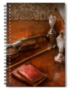 Music - Violin - A Sound Investment  Spiral Notebook