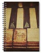 Musical Fingerprints Spiral Notebook