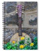 Musical Garden Spiral Notebook