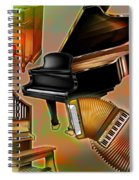 Musical Instruments With Keyboards Spiral Notebook